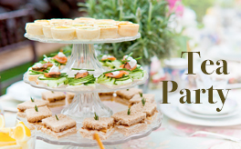 Tea Party to heat up the church.
